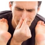 Fight foot odor