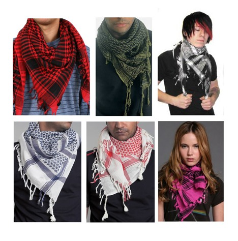 Keffiyeh, A fashionable accessory for Men