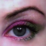 Experiment with Bright colored Eyeshadows