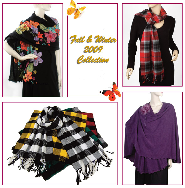 Winter Scarf trends 2009