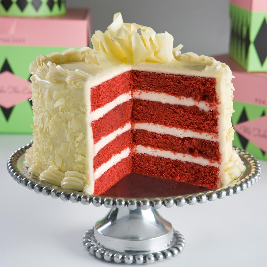 Authentic Red Velvet Cake