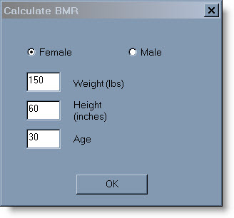 BMR Calculator- Know your Calorie Intake