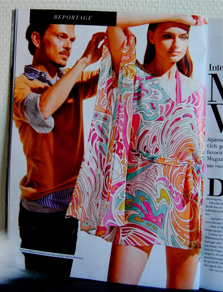 Wear prints and patterns with style