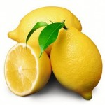 Lemon juice for good health!