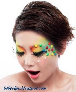 Candy make up is trendy