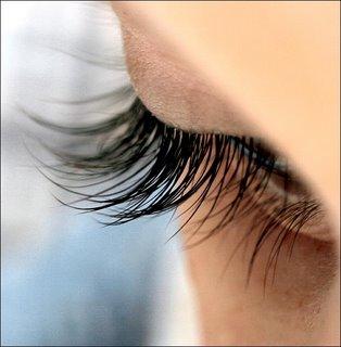 Stimulate eye lash growth