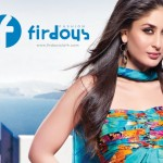 Kareena Kapoor Models for Firdous Lawn Collection 2010