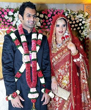 Shoaib Malik weds Sania Mirza