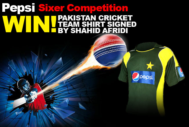 Pepsi Sixer competition during T20 World Cup