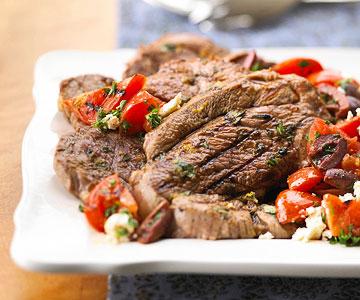 Greek Lamb Platter recipe