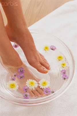 Chamomile Foot Soak