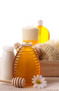 Honey milk bath