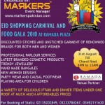 Eid Shopping Carnival and Food Gala 2010 for Pakistan Flood Victims