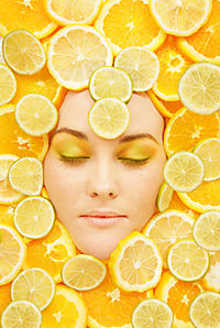 beauty with lemon