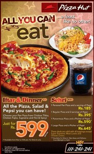 pizza hut karachi ramadan Deals