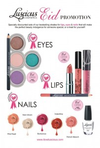 Luscious Eid Promotion make up