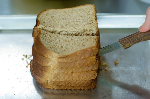 Don't throw stale bread away!