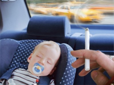 Smoking in front of kids leads to premature death