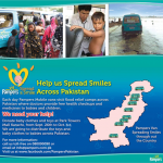 Help Pampers Pakistan to spread smiles among Flood victims