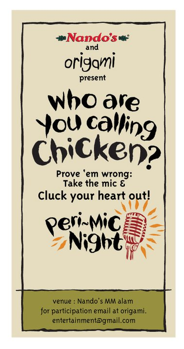 Flaunt your Talent at Nando's Lahore