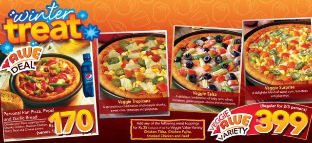 Pizza Hut Winter Treat 2010 Rewaj Women Lifestyle