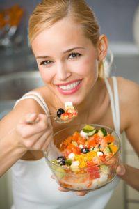 Healthy food summer