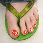 Nail art for your toes