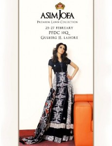 Asim Jofa's Premium Lawn Collection 2011 - Lahore