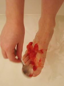 Strawberry Foot Exfoliant