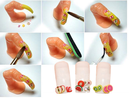 Let's have a look at Fimo Nail Art
