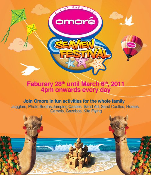 Omore Sea view Festival