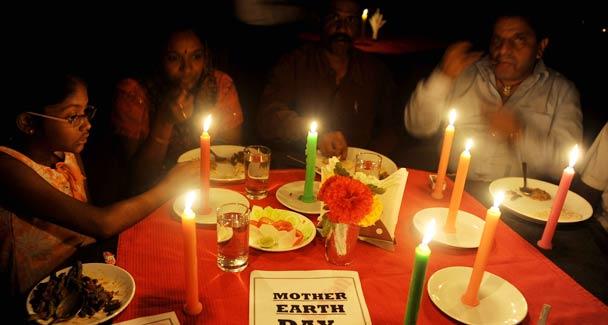 Restaurants partcipating in Earth Hour 2011 in Karachi