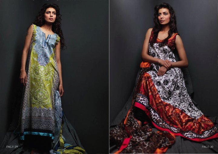 Zunn presents its Summer Lawn 2011 with Lakhany Silk Mills
