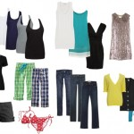 Clothes for women, who travel during summer