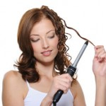 Curling Hair With A Curling Iron