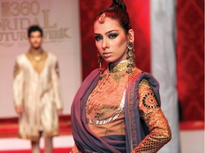 JJ Valaya at Bridal Couture week 2011