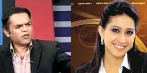 Famous TV Anchors Kashif Abbasi and Mehr Bokhari engaged