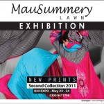 Mausummery Lawn Exhibition extended till May 25th in Karachi