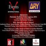 Pakistan Fashion Extravaganza 2011 in London
