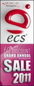 Annual Sale 2011 at Ehsan Chappal Store (ECS)