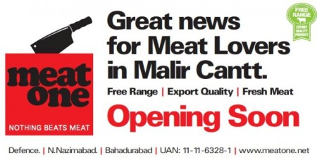 Meat One coming to Malir Cantt