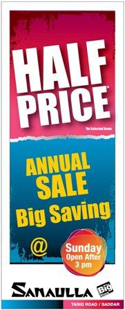 Sanaulla – The Big Store Annual Sale 2011