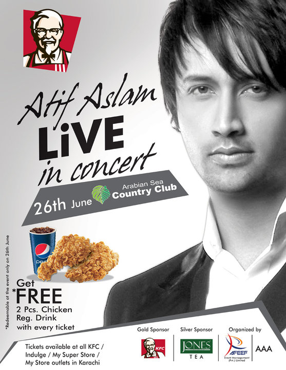 atif aslam karachi concert june 2011