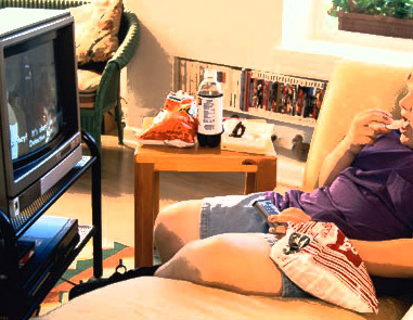 Couch potatoes double risk of lung blood clots