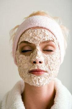 Oatmeal and Yogurt Face Mask