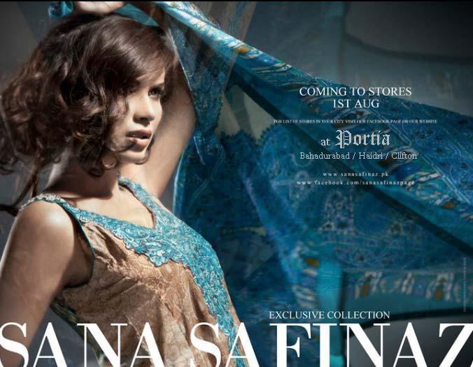 Sana Safinaz Eid Collection 2011 at Portia Begins