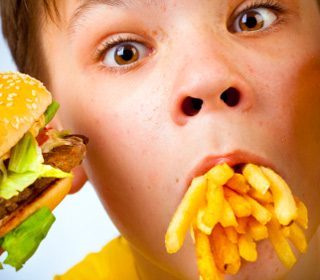 TV junk food ads boost kids appetites