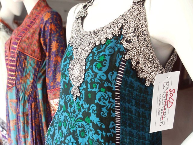 Umar Sayeed launched his collection labeled Umar Light at The House of Ensemble
