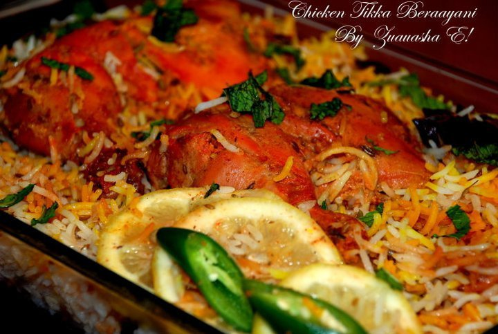 Special Chicken Tikka Biryani for Eid 2011