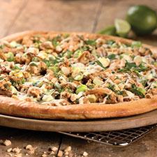 Thai Gluten Free pizza